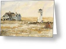 Provincetown Light Greeting Card