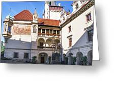 Pruhonice Castle Architecture Greeting Card