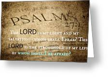 Psalms102 Greeting Card