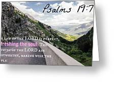 Psalms103 Greeting Card