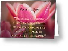 Psalms104 Greeting Card