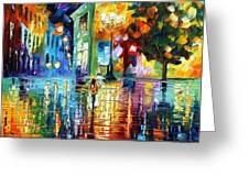 Psychedelic City Greeting Card