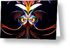 Psychedelic Dreams Greeting Card