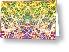 Psychedelic Drug Trip Greeting Card