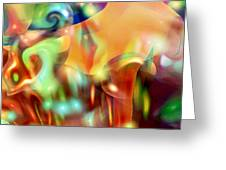Psychedelic Xperiment Greeting Card