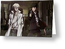 Psycho-pass Greeting Card