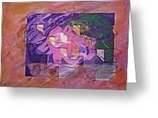 Psycho Pattern Greeting Card