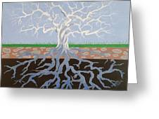 Psycodelic Tree Greeting Card