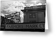 Public Market #2 Greeting Card