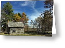 Puckett Cabin Va Greeting Card