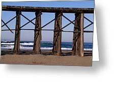 Pudding Creek Beach Greeting Card
