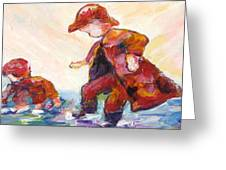 Puddle Jumpers Greeting Card