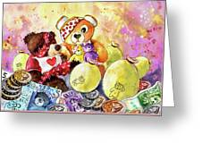 Pudsey And Truffle Mcfurry For Children In Need Greeting Card