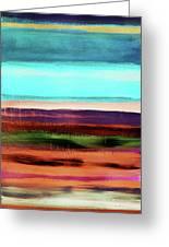 Pueblo 2- Art By Linda Woods Greeting Card