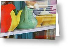 Pueblo Downtown Collectibles 2 Greeting Card
