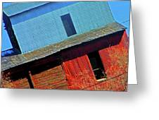 Pueblo Downtown--sweenys Feed Mill Greeting Card