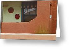 Pueblo Hacienda 8 Greeting Card