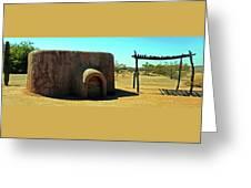 Pueblo Museum 4 Greeting Card