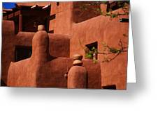 Pueblo Revival Style Architecture II Greeting Card