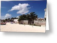 Puerto Morelos Greeting Card