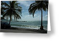 Puerto Rican Beach Greeting Card