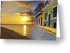 Puerto Rico Montage 1 Greeting Card