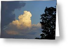 Puffy Cloud Greeting Card