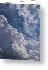 Puffy Clouds Greeting Card