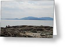 Puget Sound Islands Greeting Card