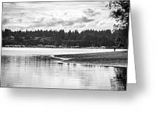 Puget Sound Reflections Greeting Card
