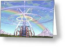 Pulsar Beacon Greeting Card