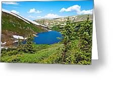 Pumphouse Lake I Greeting Card