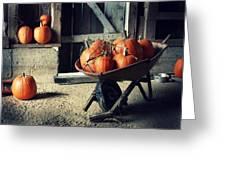 Pumpkin Family Greeting Card