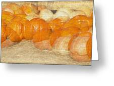 Pumpkin Overlay Greeting Card