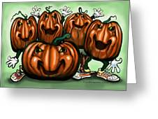 Pumpkin Party Greeting Card