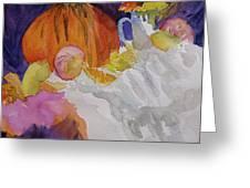 Pumpkin Still Life Greeting Card