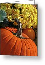 Pumpkin Still Life  Greeting Card