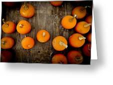 Pumpkin Tops Greeting Card