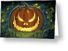 Pumpkinfire Greeting Card