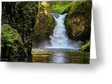 Punch Bowl Falls, Oregon Greeting Card