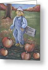 Punkins For Sale Greeting Card