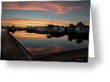 Punta Gorda From Bal Harbor Greeting Card