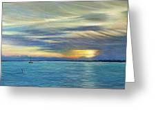 Punta Gorda Florida Art Greeting Card