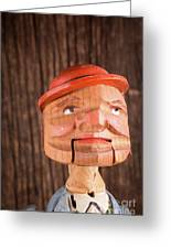 Puppet Head Greeting Card