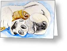 Puppy Dreams Greeting Card