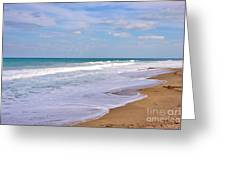 Pure Beach Greeting Card