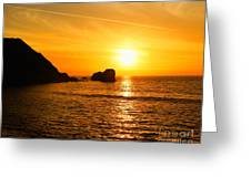 Pure Gold Greeting Card