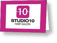 Pure Salon Boca Raton Greeting Card