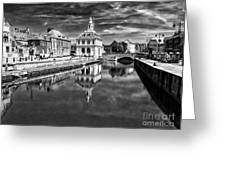 Purfleet Quay King's Lynn Greeting Card