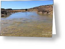 Purgatoire River 2 Greeting Card